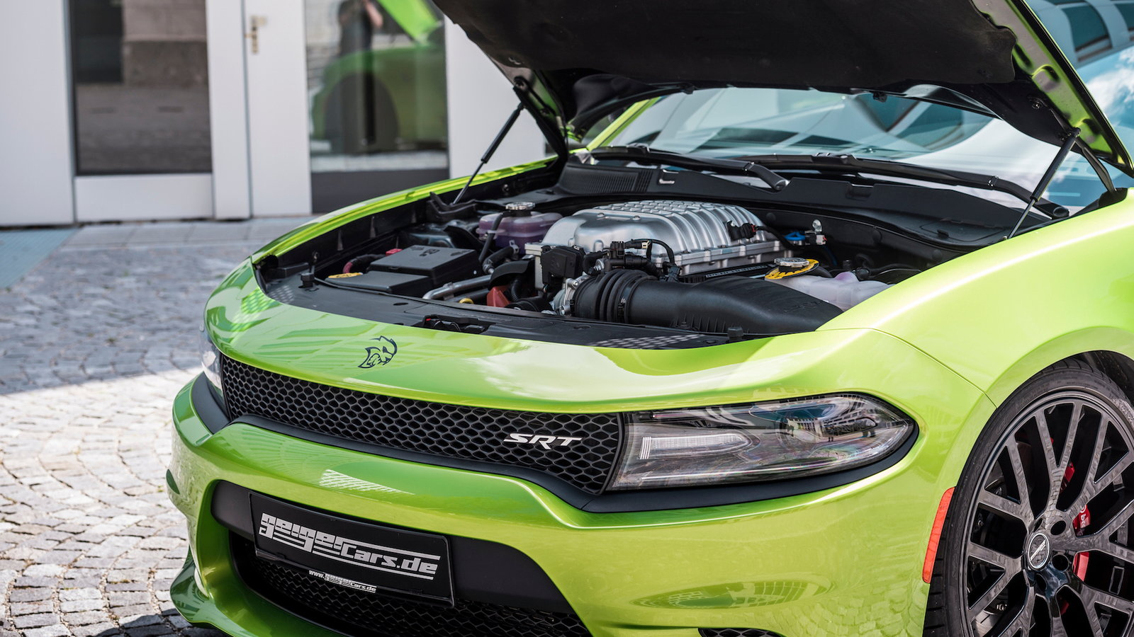 German Outfit Takes Hellcat Charger and Makes 782HP