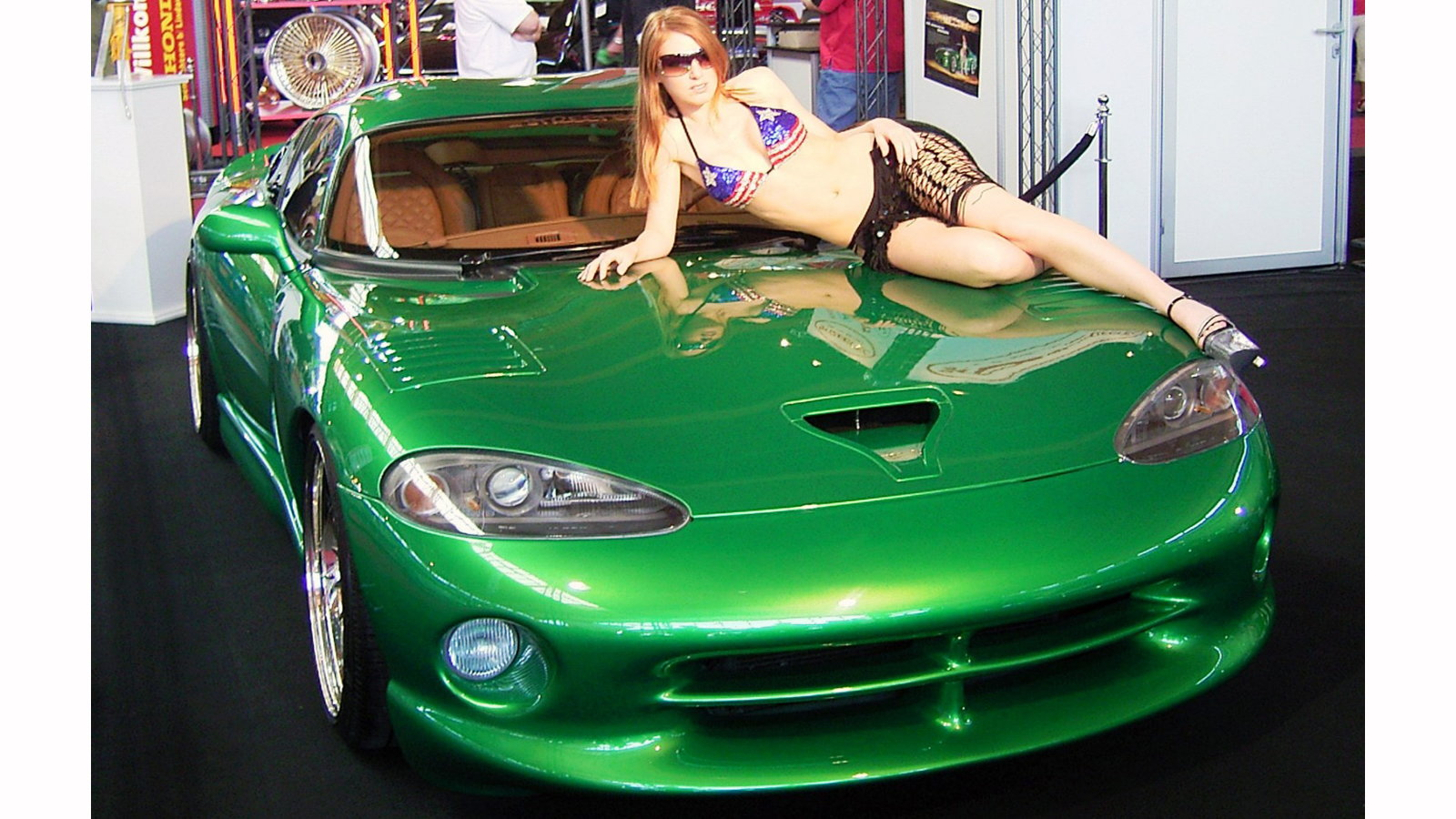 Viper GTS with an Irish Lass