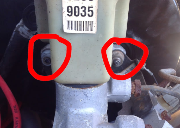 Dodge ram master cylinder replacement