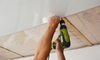 How to Swirl Finish a Drywall Ceiling