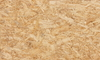 Close up of particleboard
