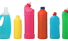 assorted detergent bottles