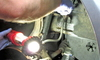 working on a car's brake line