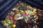 A bin of compost.
