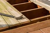 Installing Curved Deck Steps
