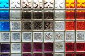 multicolored glass