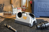 A Drill Doctor 750X in a workshop