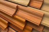 pile of baseboard trim pieces