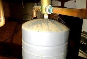 A boiler.