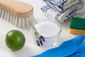 eco-friendly cleaning ingredients and supplies