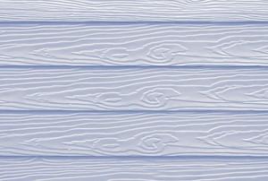 white panel home siding
