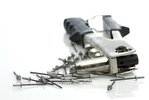 A rivet gun.