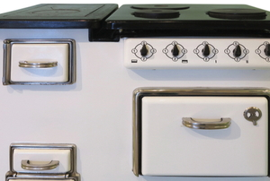 vintage antique oven restored and cleaned