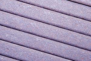 a light purple deck