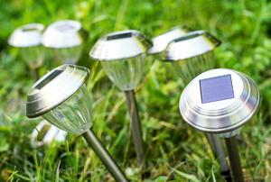 Solar lights.