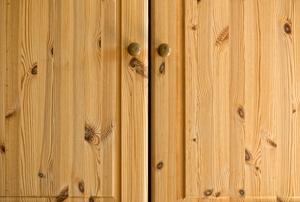 Cabinet doors.