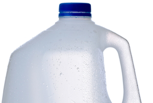 plastic jug for milk or water