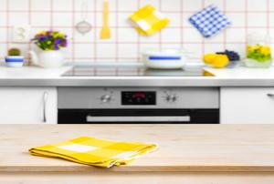 beautiful paperless kitchen