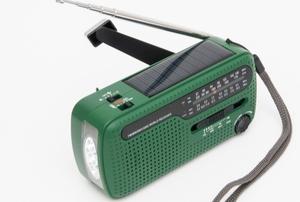 A radio.