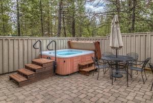 a hot tub