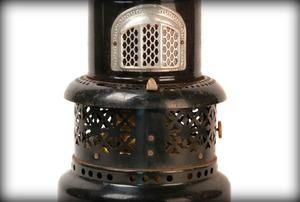 A kerosine space heater.