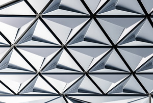 a silver pattern