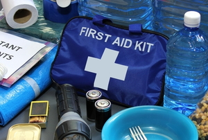 an emergency kit