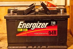 Energizer car battery