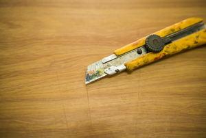 A utility knife.