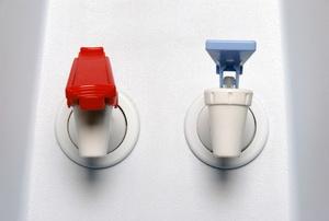A water dispenser.