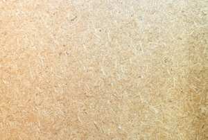 Particle board.
