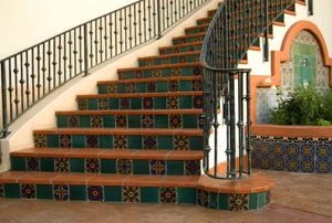 tile your wood staircase