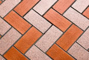 Quarry tile floors.