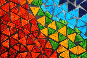 A mosaic.