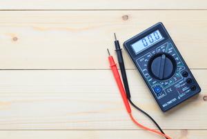 a rectangular meter