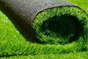 Synthetic turf.
