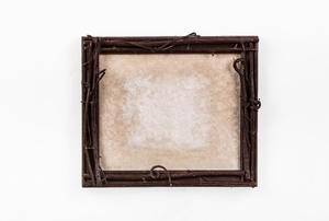 A wood frame.