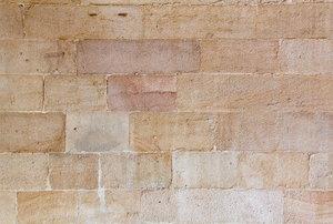 a Sandstone Wall