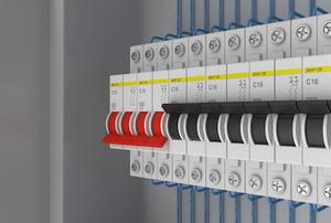 A circuit breaker.