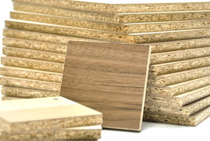 stack of particle board