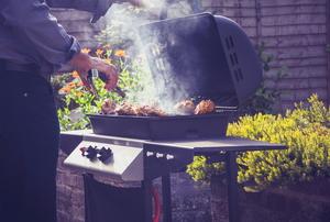 barbecue gas grill