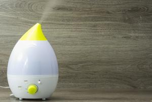 A dehumidifier.