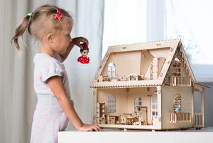 A dollhouse.