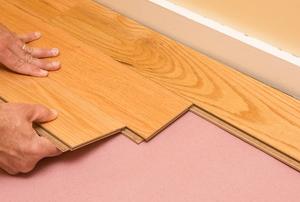 Installing plank flooring