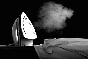 nonstick iron steaming by crisp clothing