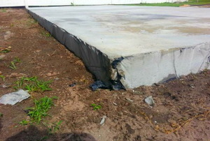 The worst poured concrete foundation you have ever seen.