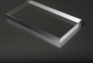 An acrylic sheet.