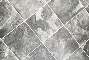 Vinyl tiles.