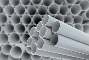 PVC pipe.
