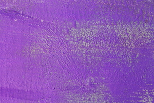 wall painted purple with enamel paint